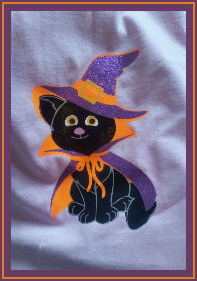 Halloween Cat layered file