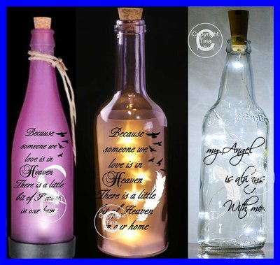 Because Someone We Love is in heaven  3 files for bottles, frames etc.