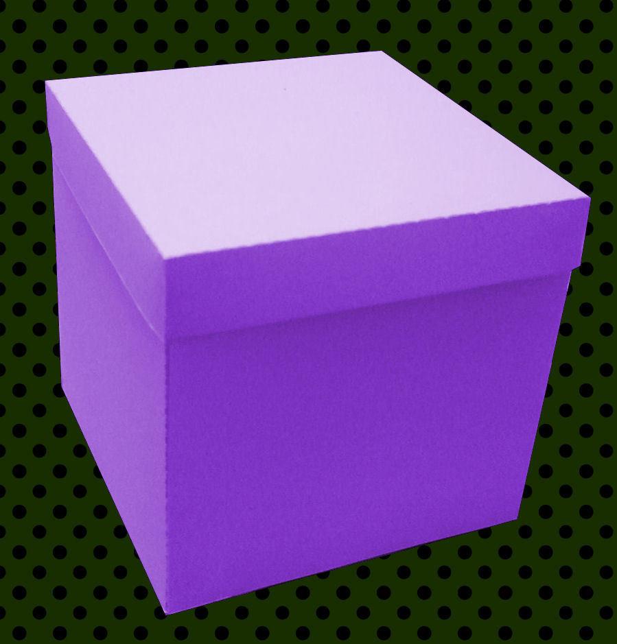 Gift Box 5.25 x 5.25 x 5 inch cutting file silhouette svg fcm scan n cut