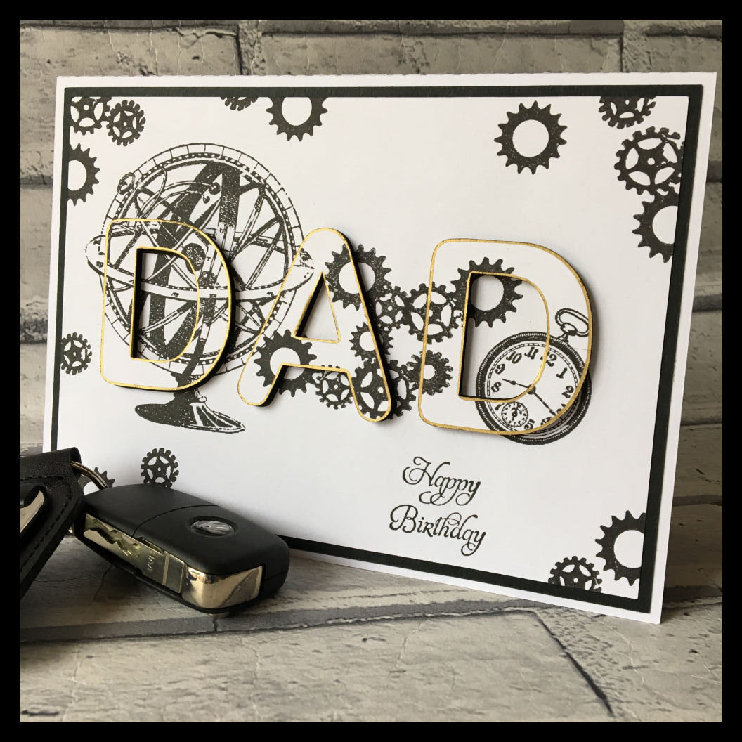 3d eclipse card - DAD   all formats
