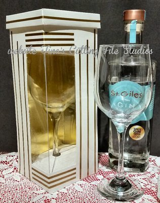Gin Wine Glass / Goblet Luxury Display Box (Large)