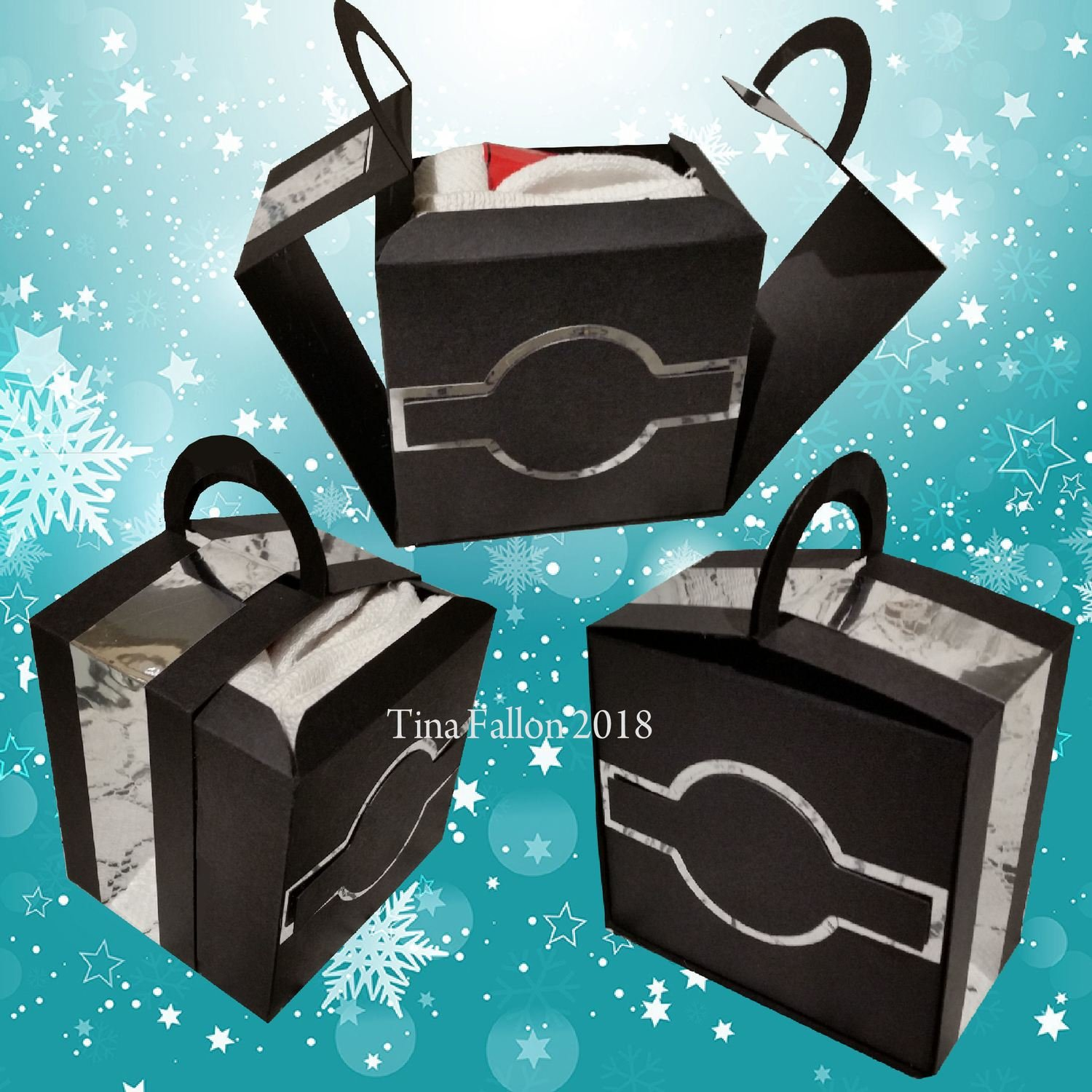 Gift Box with removeable Drawer - Gift Carrier Display Box