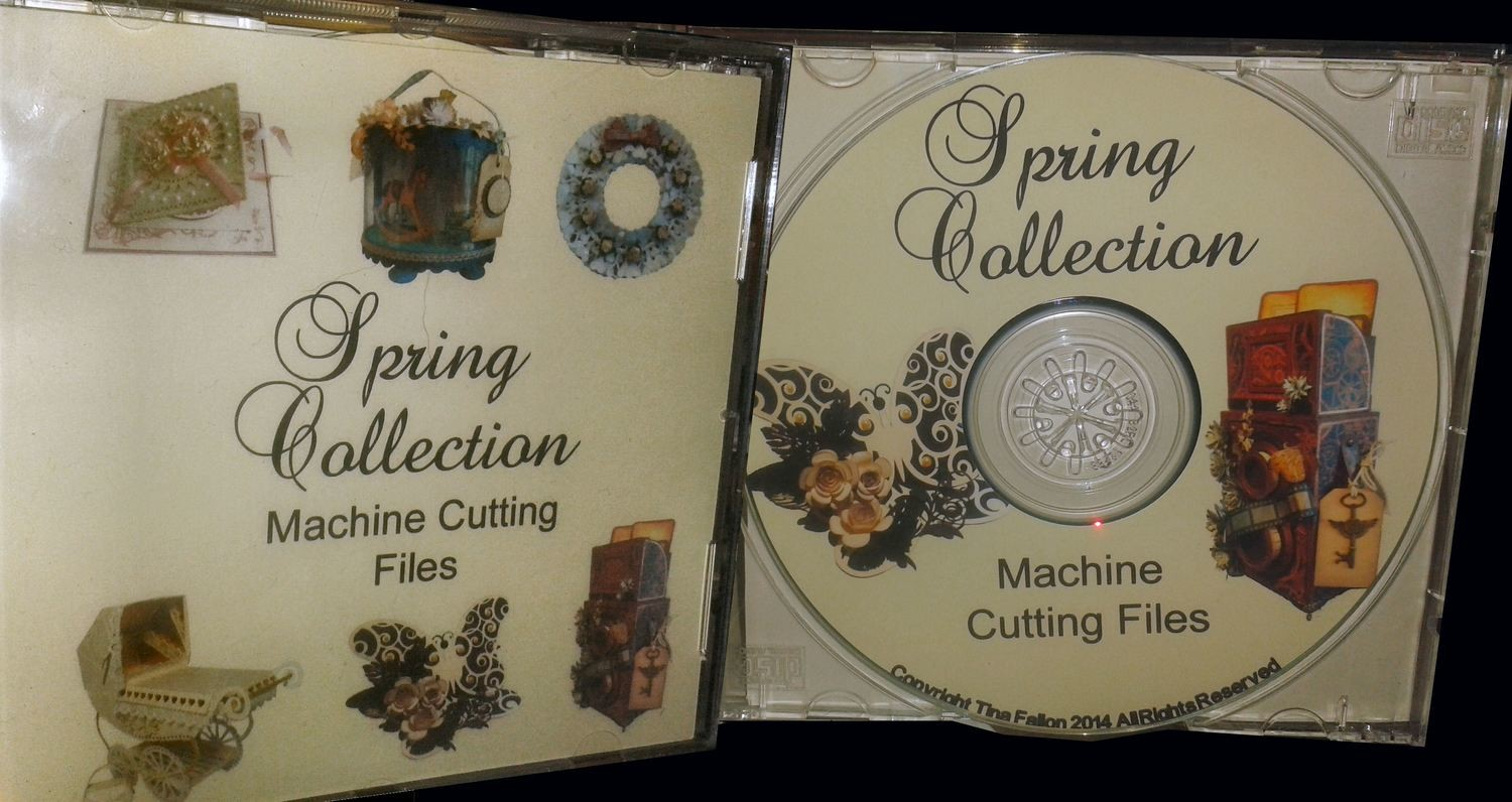 Spring Collection CD ROM (posted recorded delivery)
