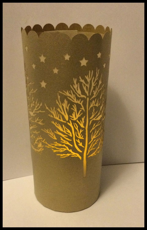 Christmas  - Forest Tree  Lantern