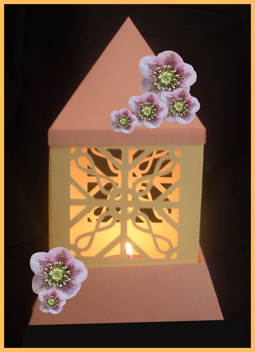 3d MINI  Luminaire - Lantern - Lamp - Filigree Ironwork