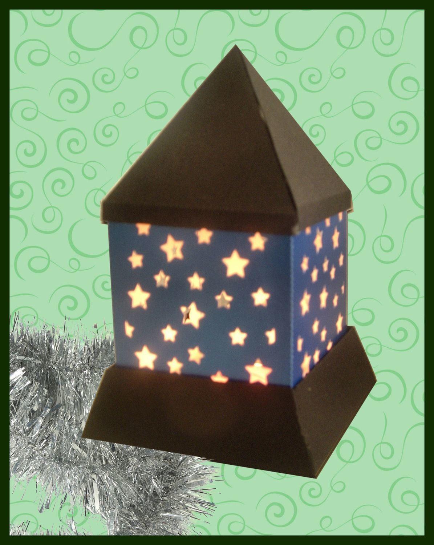 3d MINI  Luminaire - Lantern - Lamp - Stars