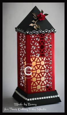 3d Lantern - Lamp - Hexagons