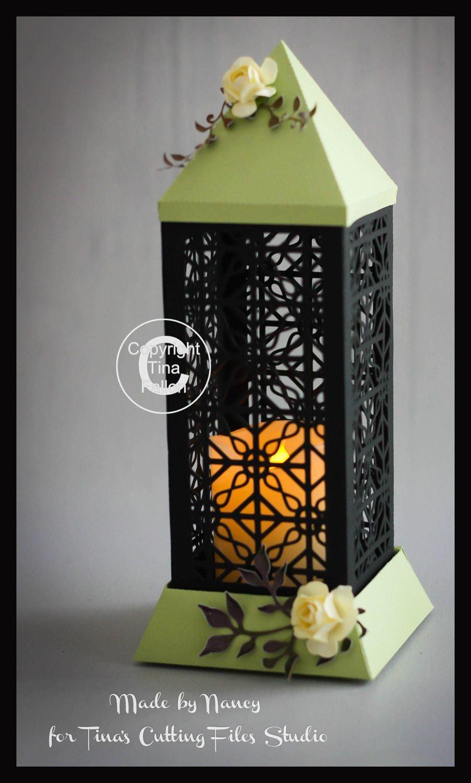 3d Lantern - Lamp - Filigree