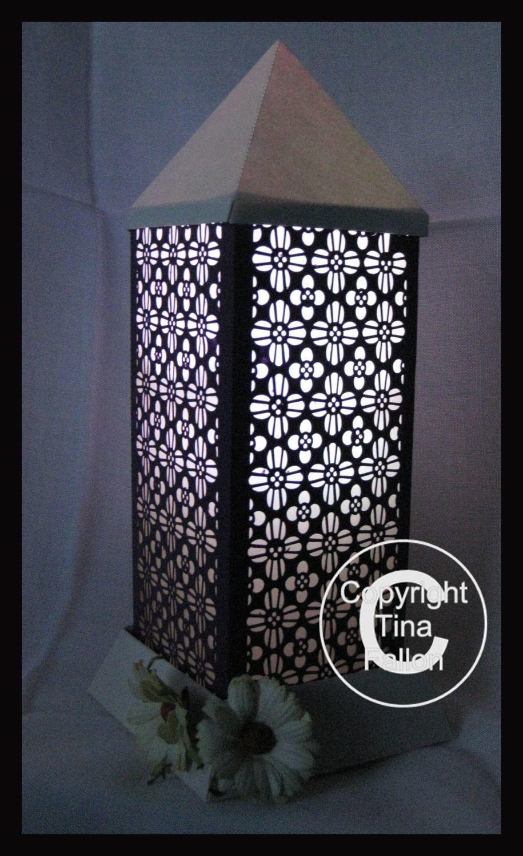 3d Lantern - Lamp - Floral