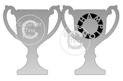 Trophy Card Champion