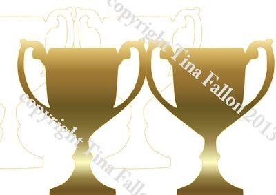 Trophy Card Plain