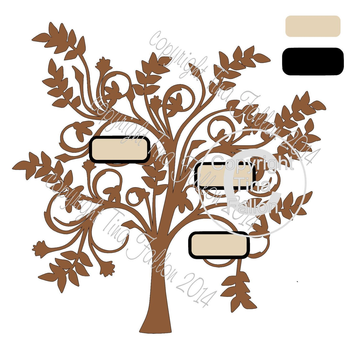 Family Tree for any number of names