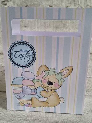 Cute Easter Chocolates Gift Bag  No 5 -  print n cut studio cutting file