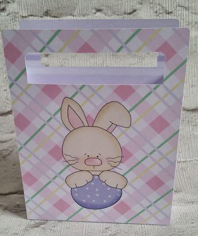 Cute Easter Chocolates Gift Bag  No 1  -  print n cut studio cutting file