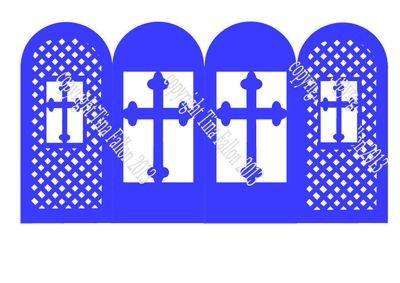 Religious Screen Card No 5 Christening etc