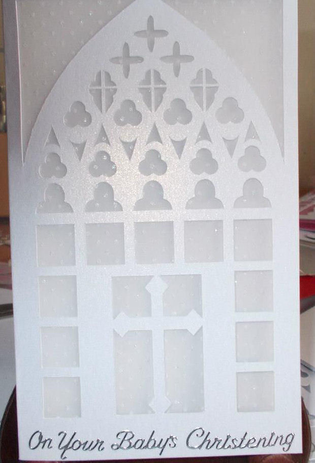 Church Window card No 2