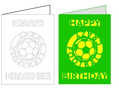 Football Card No 3