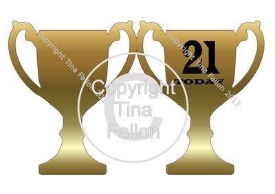 Trophy Card 21st