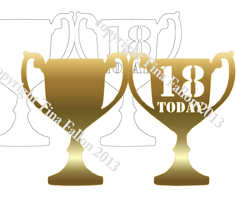 Trophy Card 18th