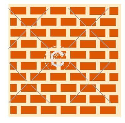 Brick Wall - Square template