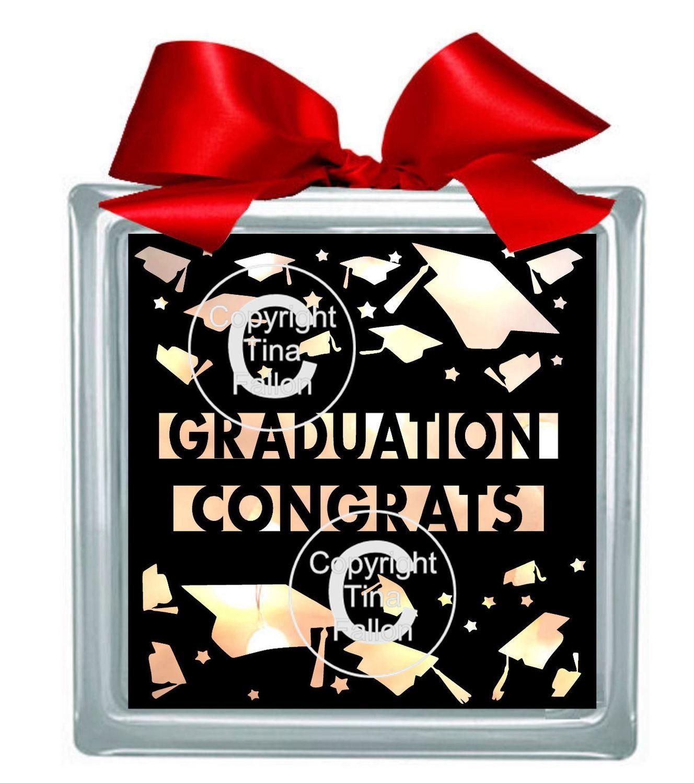 Graduation Congrats for Light box or framing SVG format