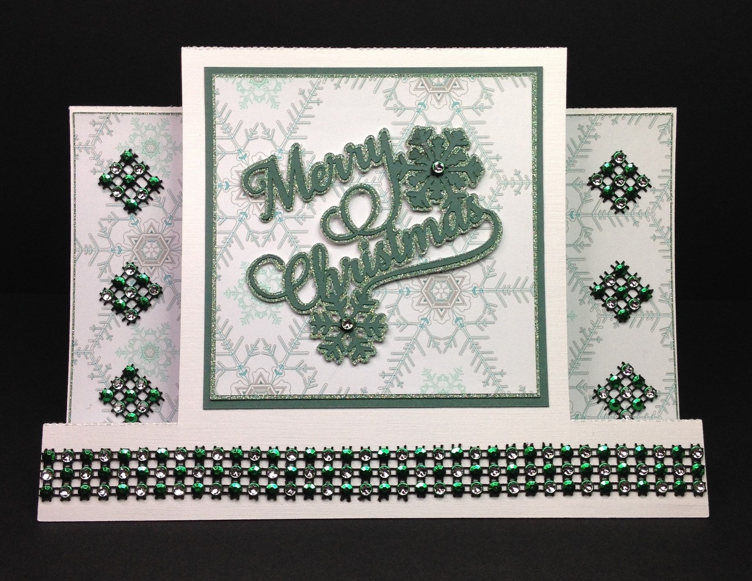 Christmas Stepper Card and Topper