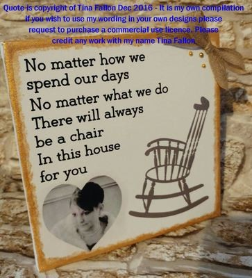 Rememberance Quote  ( No Matter How We Spend Our Days ) for use all year round (Studio) please read description as important