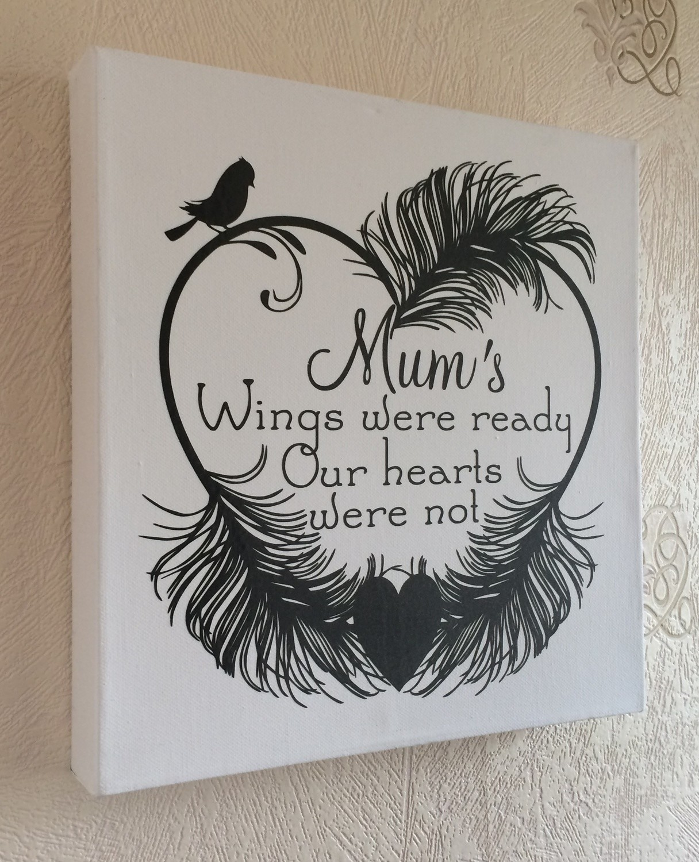 Mums Wings Were Ready -(Studio file)  Memory, Bereavement,  Vinyl rec commercial use