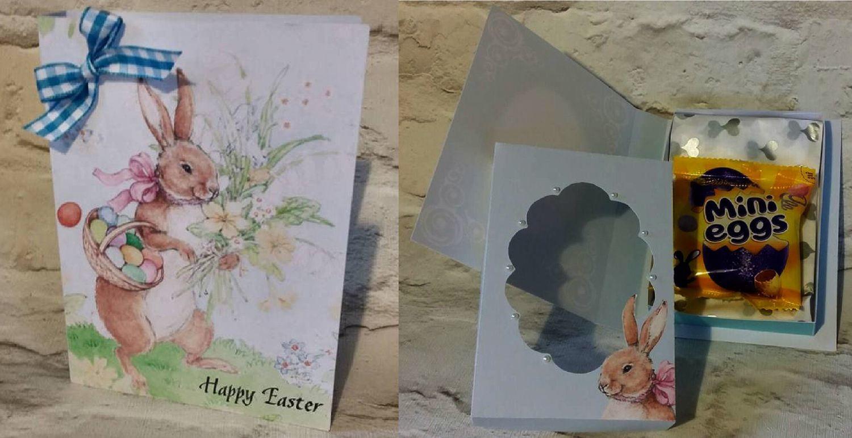 Easter Combi Card/Box  JPEGS for handcutting  print n cut