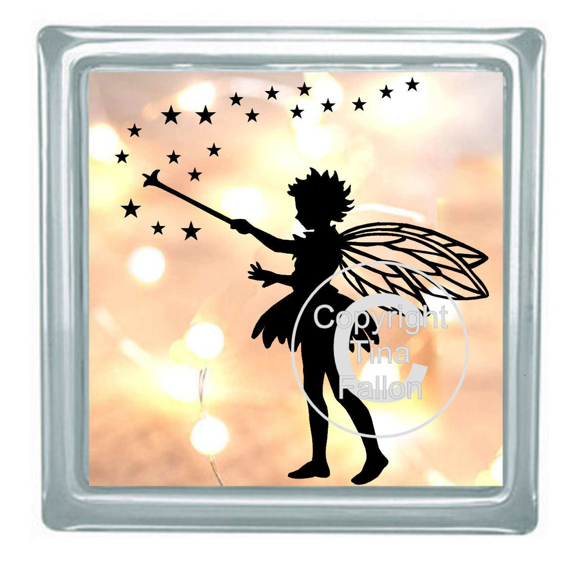 Fairy Stars No 1 for vinyl, cards,glass blocks