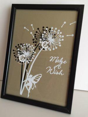 Dandelion Make A Wish 5  Word Art