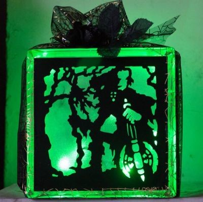 Fantasy, Goth, Halloween Goblins 7 - design for vinyl and glass blocks