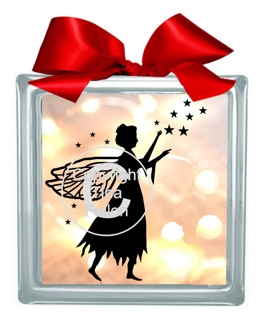 Fairy Stars No 2 for vinyl, cards,glass blocks