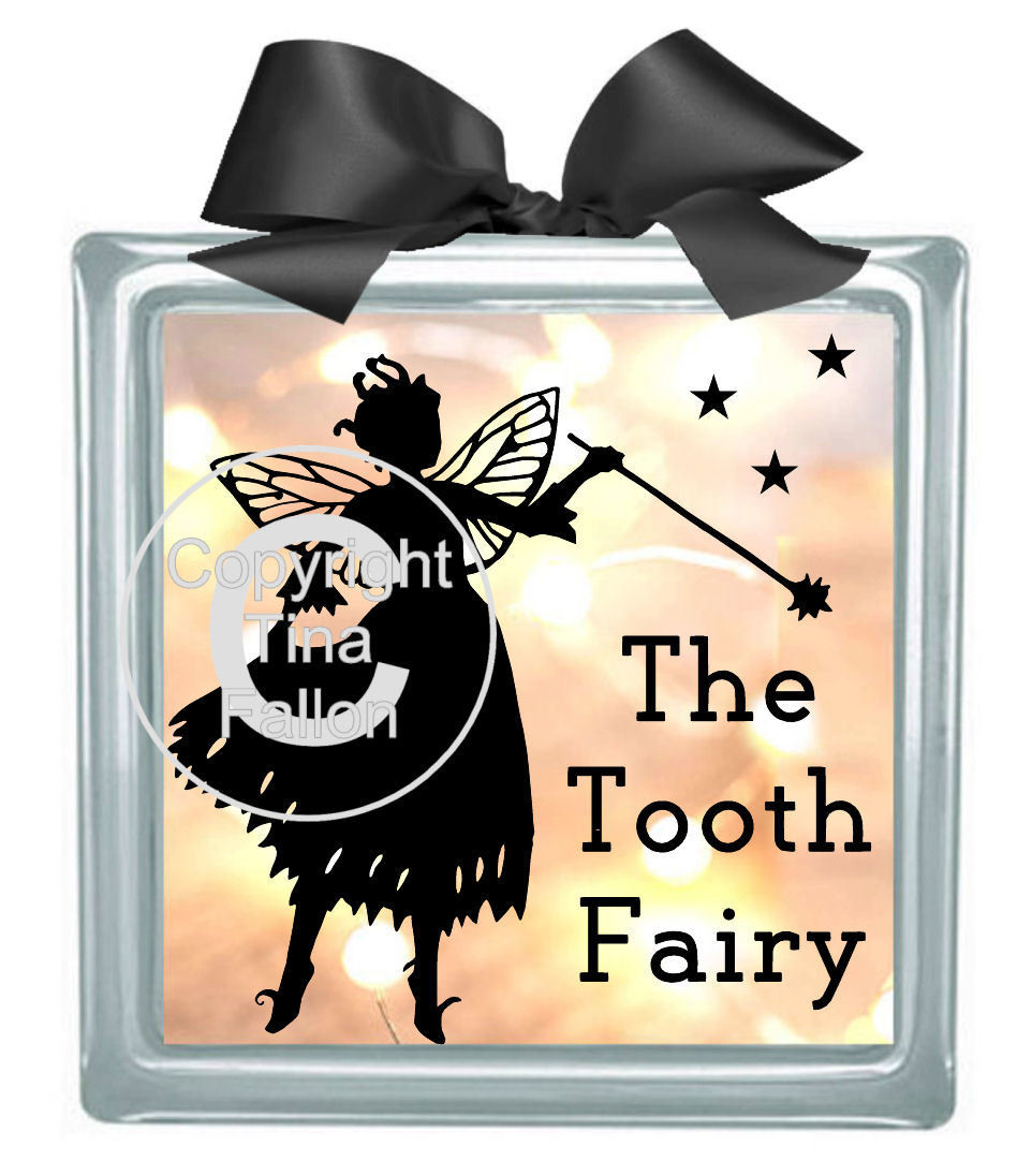 Tooth Fairy - design for vinyl and glass blocks