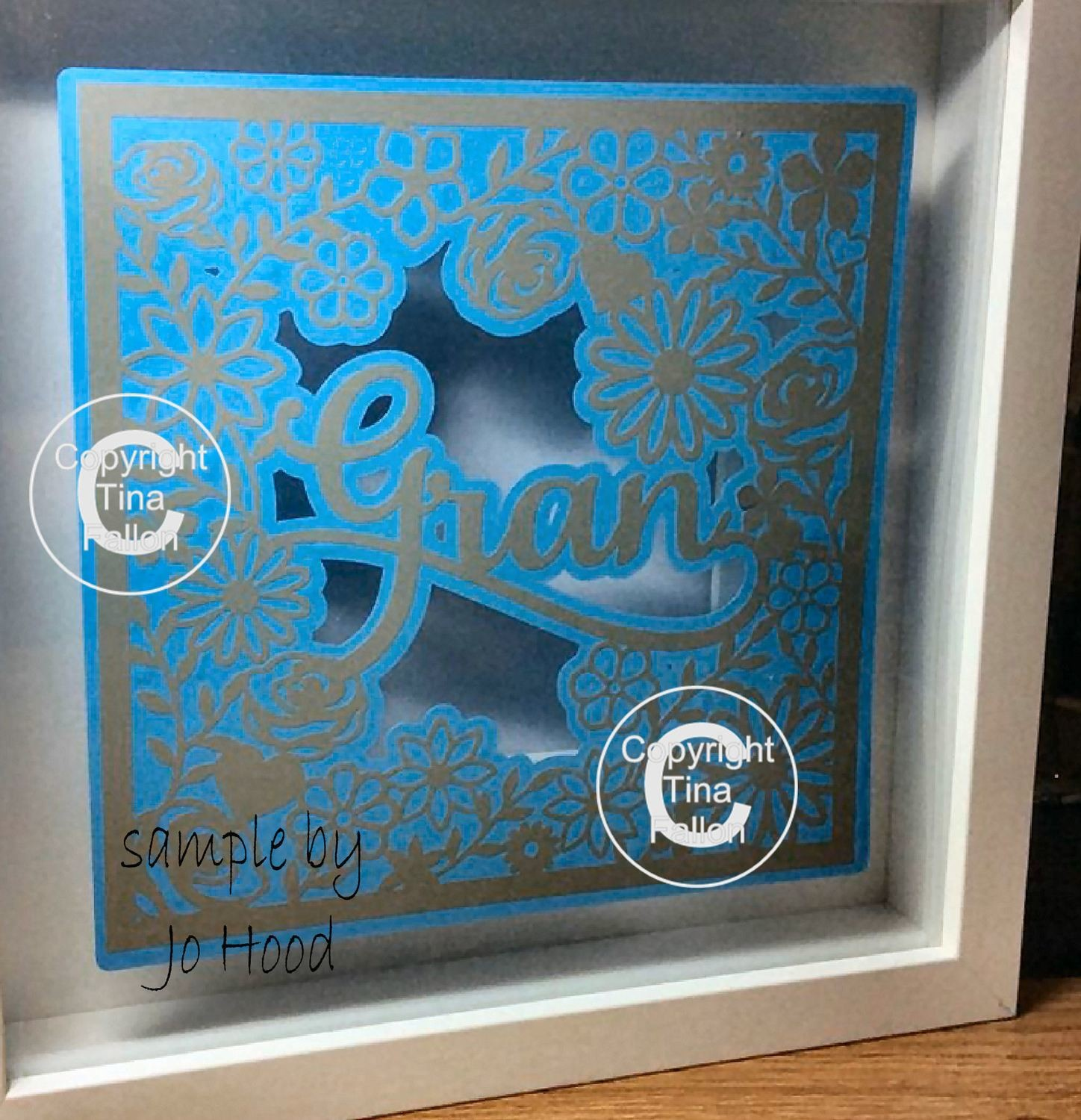 Gran  decorative framed topper ideal for Mother's Day.