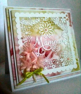 Mamma  decorative  frame ideal for Mother's Day.