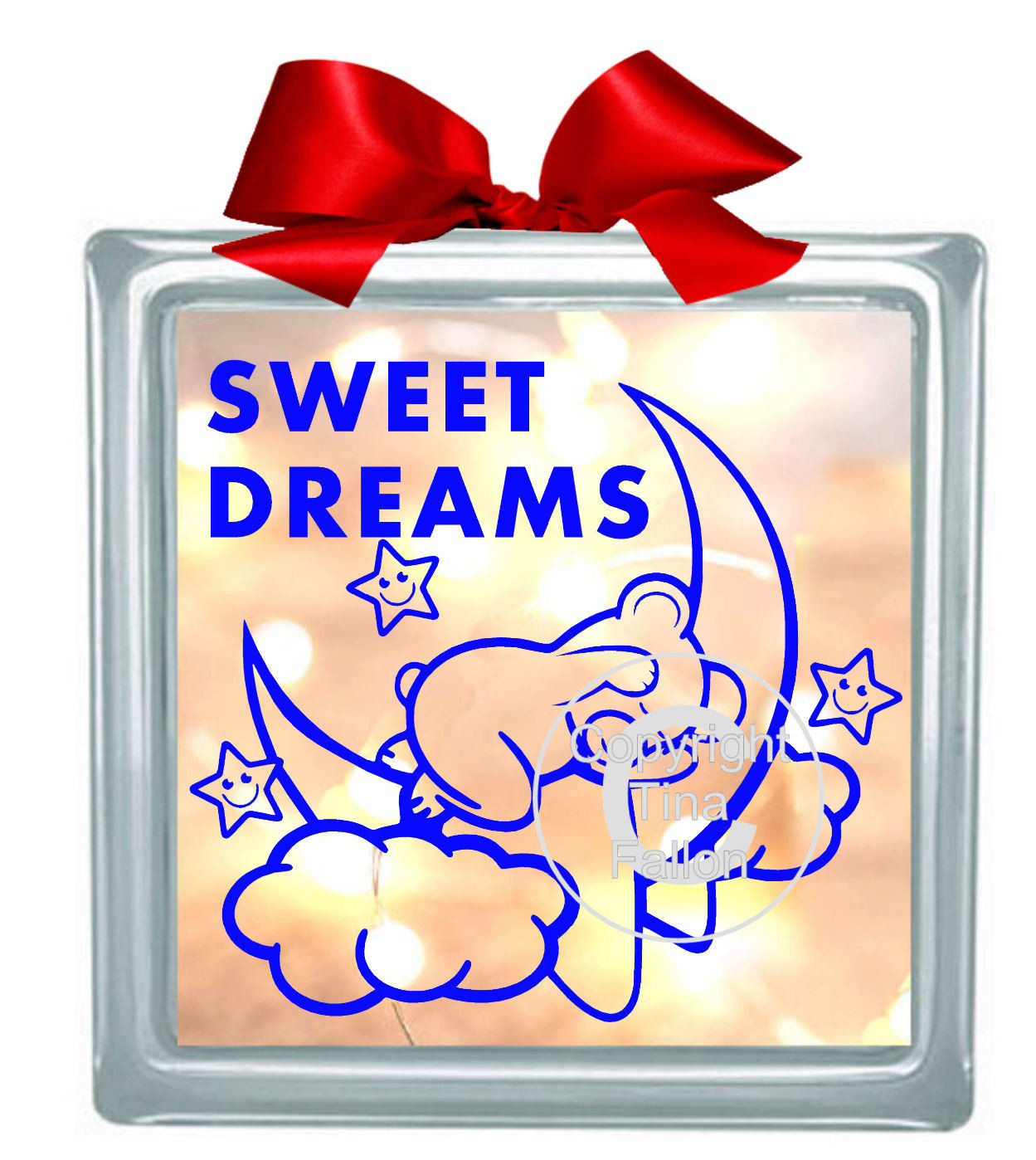SWEET DREAMS Bear on  Moon  Design end user licence