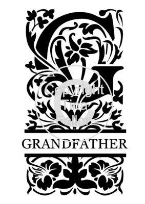 Split Letters - Grandfather