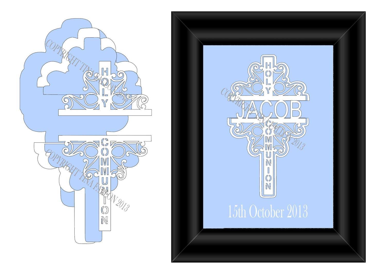 Holy Communion Decorative Cross No 2