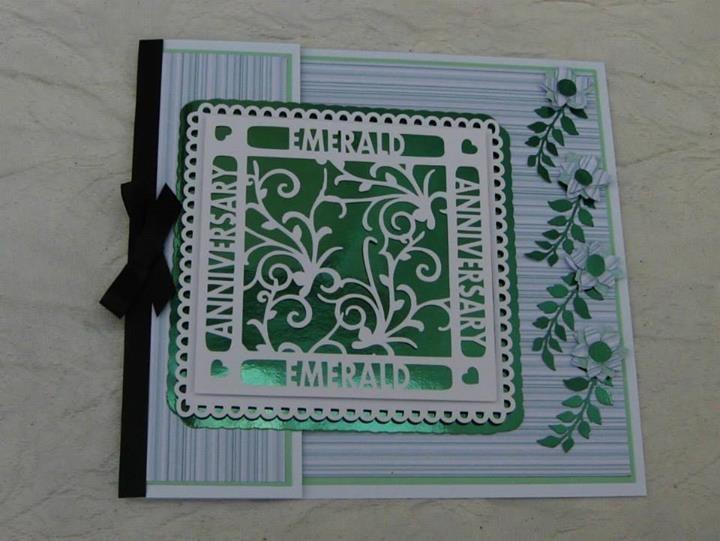 Emerald Anniversary Occasion Topper