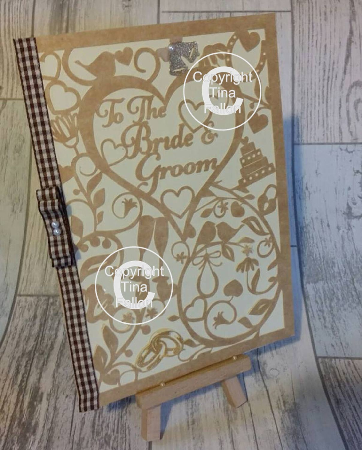 To the Bride & Groom Card