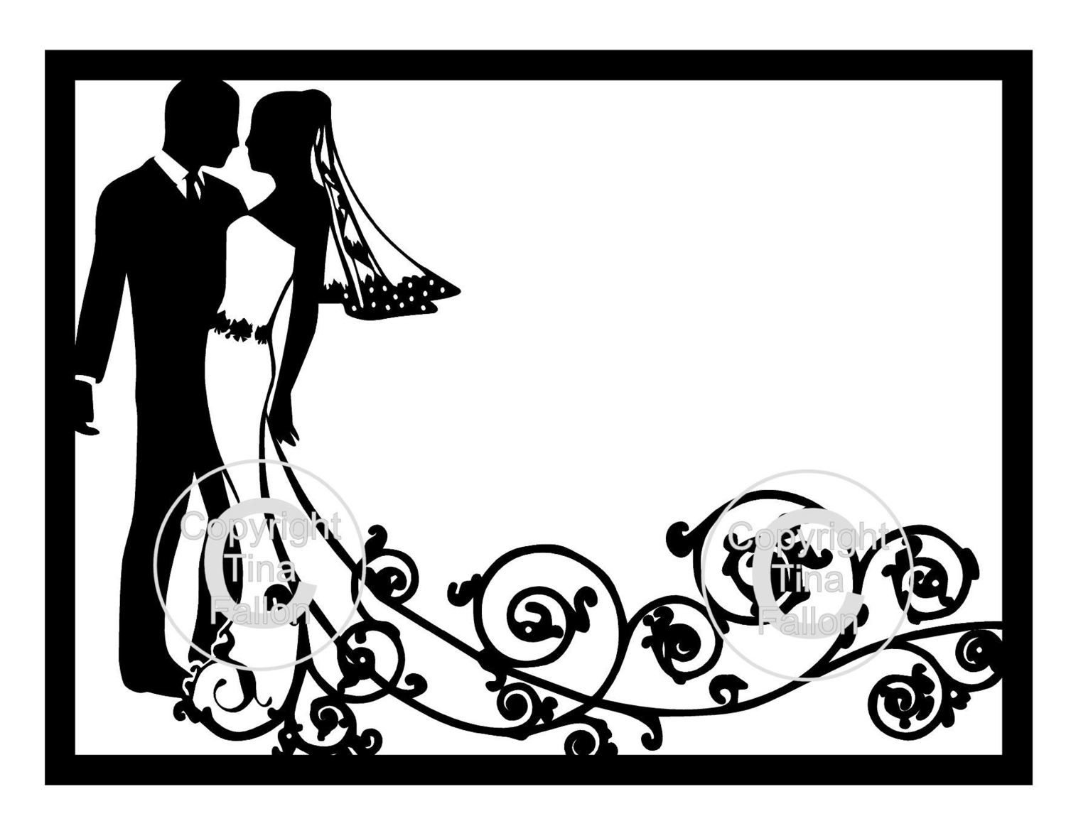 Framed Topper Groom and  Bride Swirl  please read info before purchase