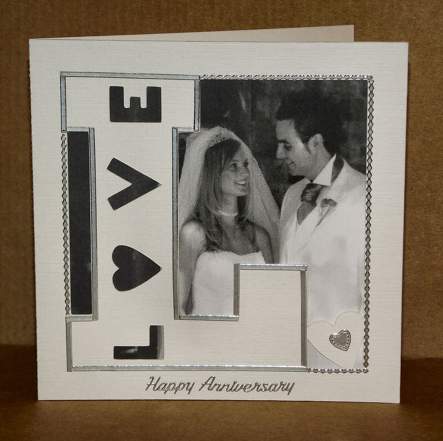 L is for LOVE Card template
