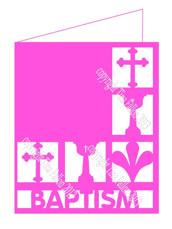 Baptism Card No 1.