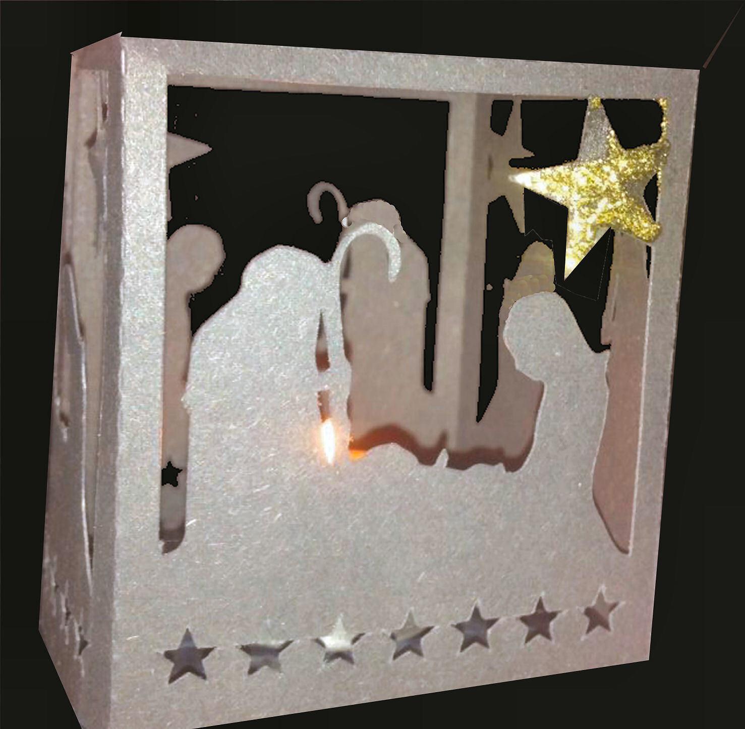 Nativity  Luminaire or gift box