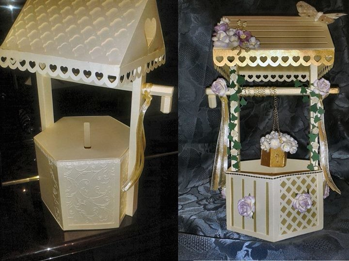 Mix N Match Wishing Well PDF for HANDCUTTING.