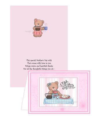 Mothers card no 5 Print n Cut includes card and insert