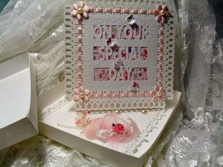 Special Day D4 Twisted Easel Card  - FCM Scan n cut