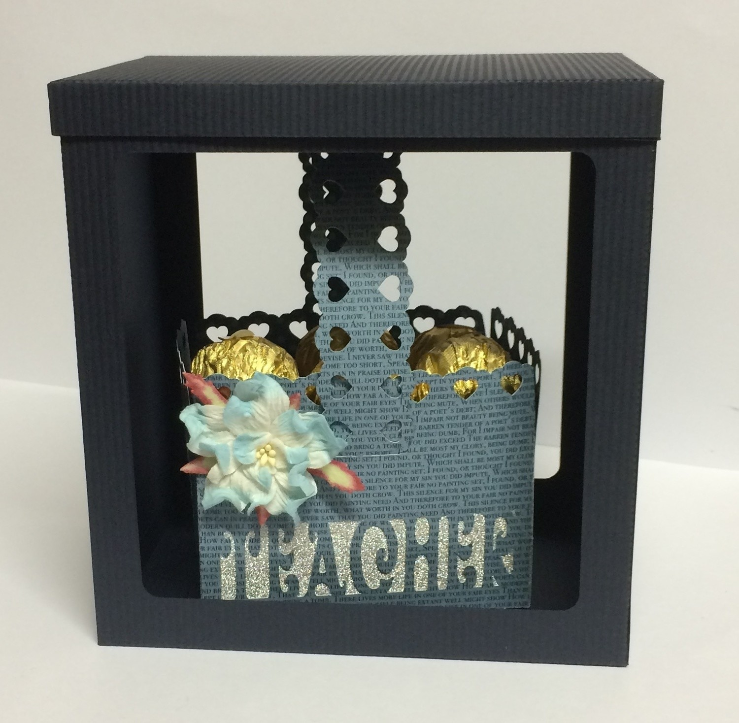 TEACHER  Basket - includes a gift box