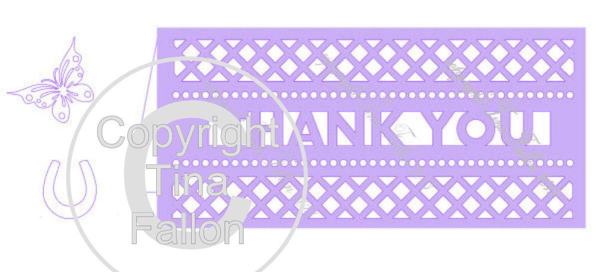 Thank You Card Template No5